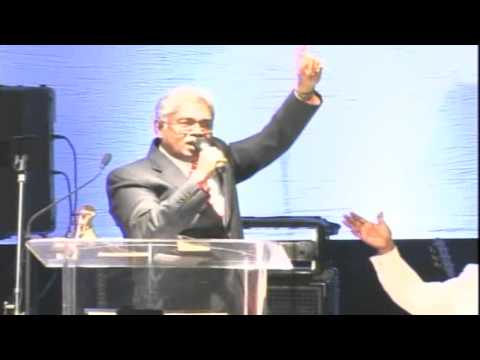Malayalam Christian Sermon:Gospel will be Preached in the Whole World by Rev.K C John (PCNAK 2011)