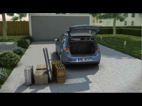 vw golf 7 animation kofferraum mit variablen ladeboden 2013 youtube. Black Bedroom Furniture Sets. Home Design Ideas