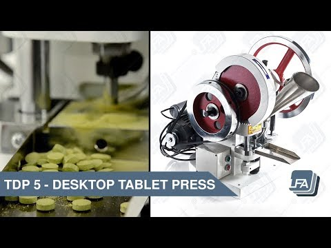 TDP 5 Desktop Tablet Press   LFA Tablet Presses