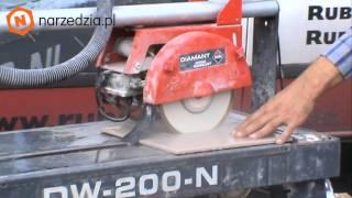 Elektryczna przecinarka DW-200-N Rubi