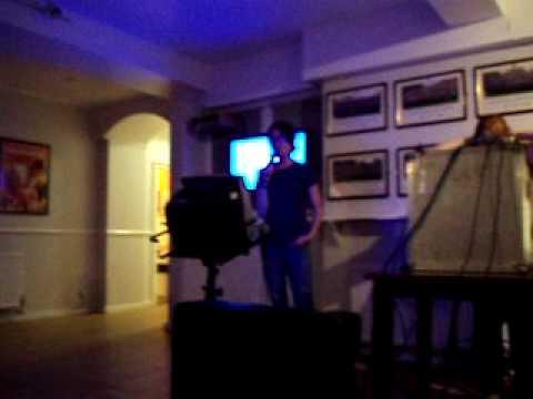 Me @ Karaoke Night @ Lady Margaret Hall
