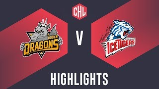 Highlights: Rouen Dragons vs. THOMAS SABO Ice Tigers