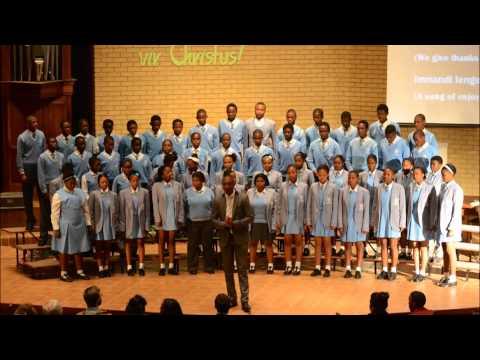 Doen slegs U wil Heer - BA Seobi Secondary School Choir