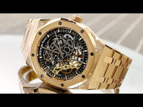 Thumbnail: Audemars Piguet Openworked - Royal Oak Double Balance Wheel Openworked Review