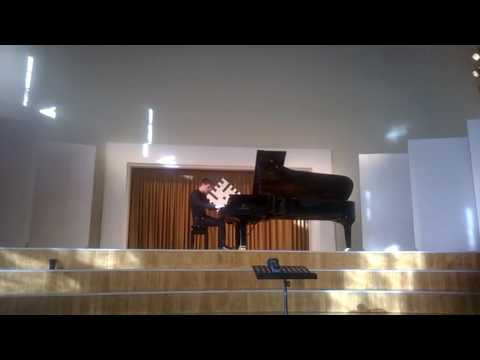 György Ligeti - Studies: Arc-en-ciel by Dmitry Yudin (Moscow). Daugavpils, June 27th, 2017
