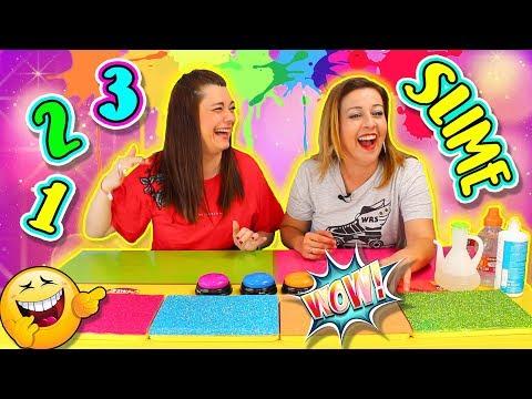 UN DOS TRES SLIME !! Slime Challenge | Juegos con Slime !
