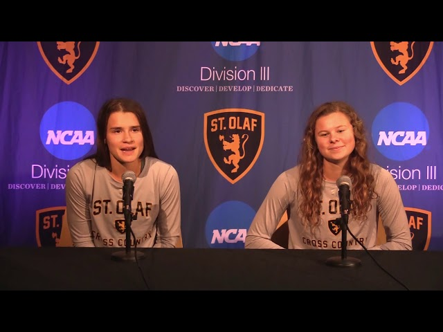 Reaction: Lisa Fisher and Jena Hauch on Blugold Invitational