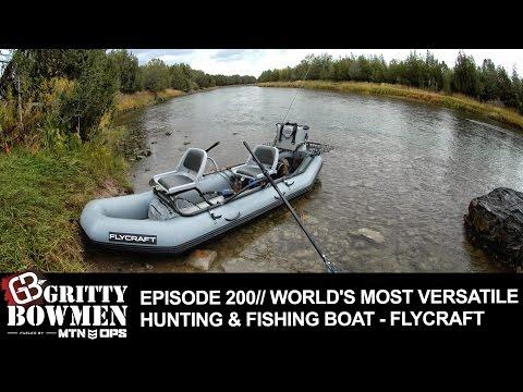EPISODE 200: World's Most Versatile Hunting & Fishing Boat - FLYCRAFT