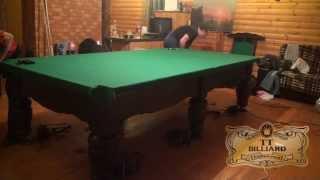 Сборка, установка бильярда.Бильярдный стол Ферзь от ТТ-Бильярд(, 2014-01-15T14:27:04.000Z)