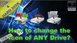 How to change the icon of ANY drive_(Hindi/Urdu)