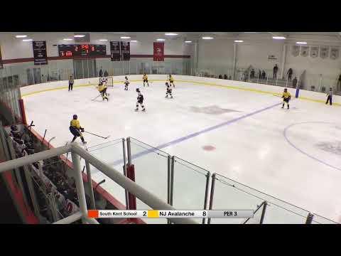 South Kent School Selects Academy 15U Vs NJ Avalanche