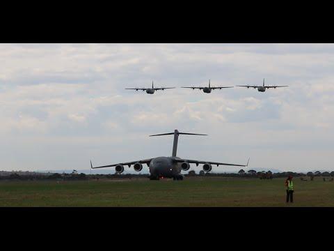 Avalon Airshow 2015 - F/A-18F, E-7A, C130s, C-17, KC-30A, AP-3C Orion...