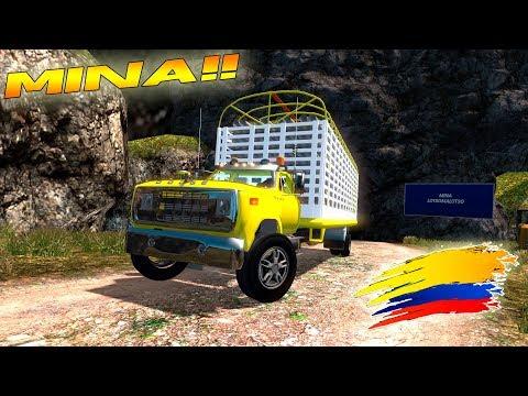 Saliendo De Una Mina Cargados De Tubería De Hierro!! Dodge Care Bola | Euro Truck Simulator 2