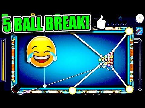 5 Balls in 1 Shot - BEST BREAK OFF EVER in 8 Ball Pool! - Berlin 50M Coins Trickshots - Dynamo Cue