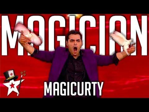 Magician Turns Birds In A Rabbit! | Magician's Got Talent