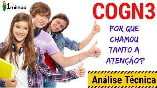 Cogn3 - Cogna Educacional Despontou Ontem - SerÁ Que HÁ Tempo De Entrar Em Cogn3? AnÁlise TÉcnica