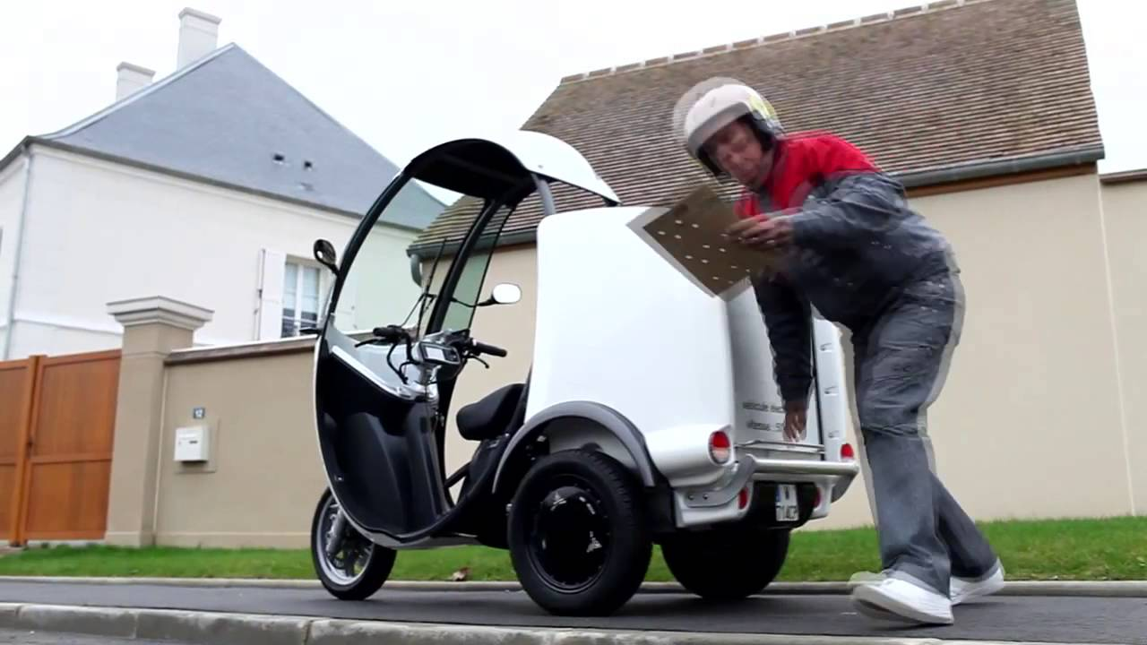 matra ms3 le scooter electrique a 3 roues youtube. Black Bedroom Furniture Sets. Home Design Ideas