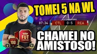 PERDI 5 X 0 NA WL E CHAMEI NO AMISTOSO - FIFA 21 ULTIMA TEAM!