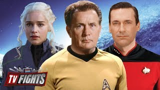 What TV Character Would Make the Best Star Trek Captain? - TV Fights: Star Trek Fights!