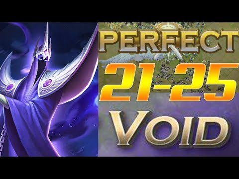 Art of Conquest Void Levels 21-25 PERFECT LICH Style