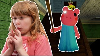 Playing PIGGY First Time • Roblox • Randall Family Gaming