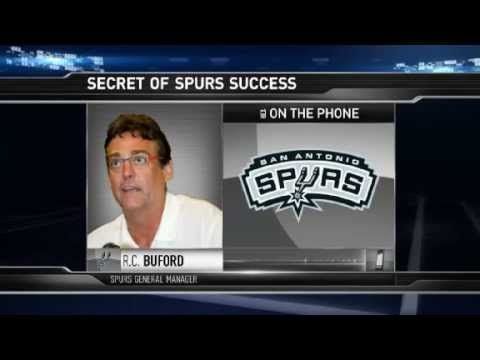 Gametime:  R. C.  Buford - The Secret of the Spurs