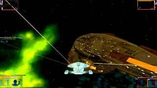 Klingon Academy Gameplay. Voyager Mod Combat