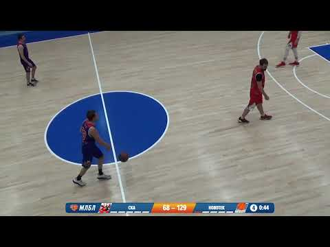 НБА 08.02.2020 1/4 I группа. БК СКА - НОВОТЕК