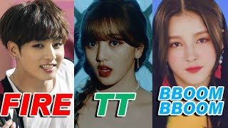 The Biggest KPOP HIT of Each Group