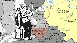 ВИЛЬНУС. Литва. Vilnius, Lithuania. Где остановиться в Вильнюсе? Куда сходить в Вильнюсе?