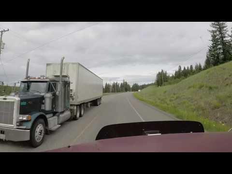 152 Дальнобой Калифорния,Аляска.Алберта.Снято гопро камерой