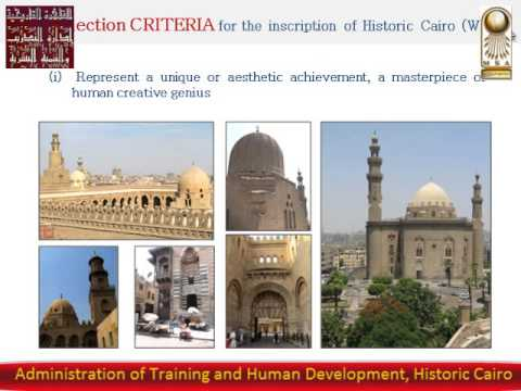 Arch Federica Felisatti  Urban regeneration of Historic Cairo