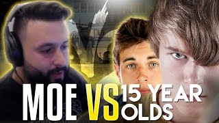 m0E VS 15 YEAR OLDS! CS:GO