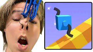 広告が多い広告で凄く見かけるゲーム 【Draw Climber】 PDS
