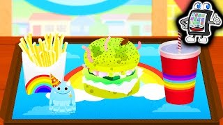 BAMBA BURGER - Der EKLIGSTE Burger der Welt! Kaan zaubert wieder! Spiel mit mir Apps
