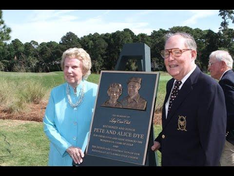 Long Cove Club Honors Pete & Alice Dye