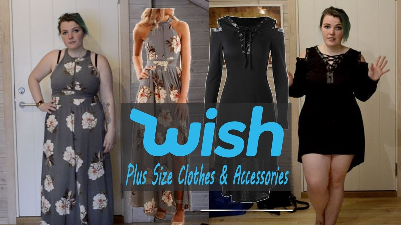 90dee23292b69 Trying Plus Size Clothes From Wish   Wish Haul & Try On #6 - YouTube