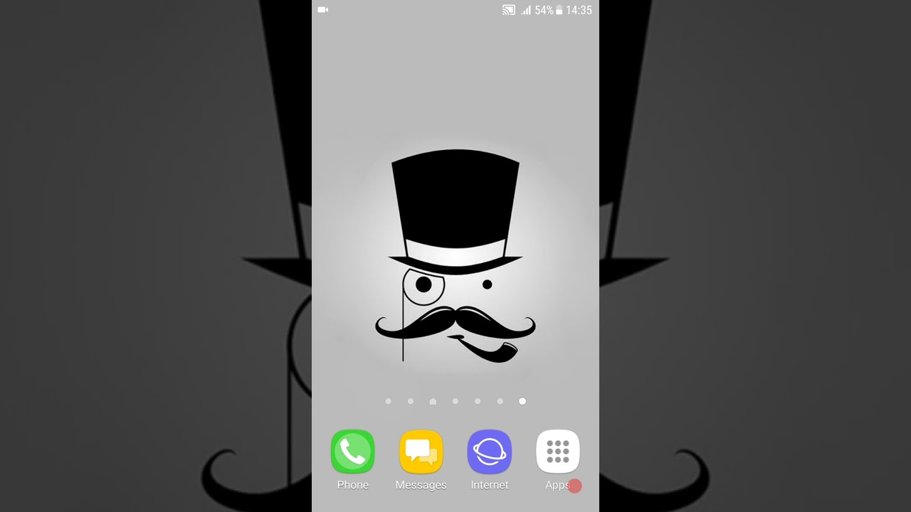 Mustache Wallpapers 4K Android Application