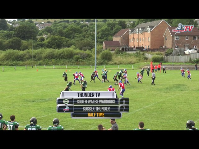 2017 - Sussex Thunder @ South Wales Warriors - Highlights