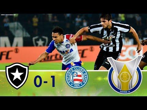 Melhores Momentos - Botafogo 0 x 1 Bahia - Campeonato Brasileiro (20/10/2018)