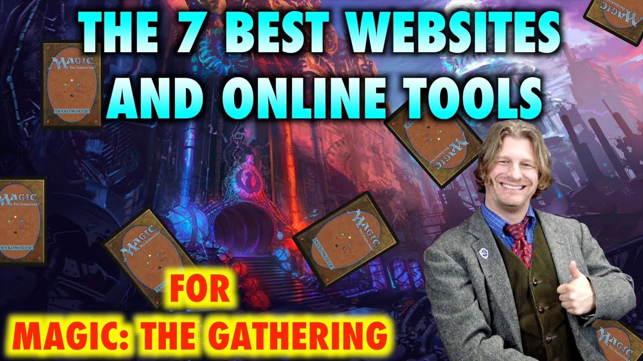 Mtg The 7 Best Websites And Online Tools For Magic The Gathering Youtube See deck price, mana curve, type distribution, color distribution, mana sources, card probabiliti. mtg the 7 best websites and online tools for magic the gathering