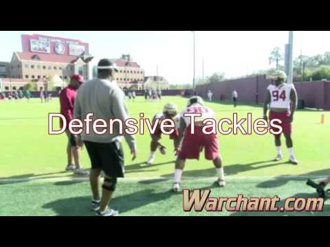 Florida State spring football practice sights and sounds - Day One