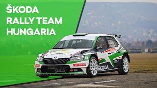 Bemutatkozik a ŠKODA  Rally Team Hungaria