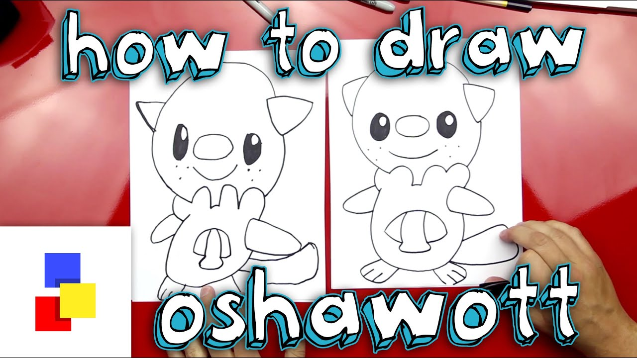 Oshawott Drawing
