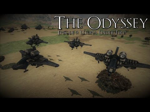 Space Engineers: The Odyssey Episode 9: Utopia Under Fire!