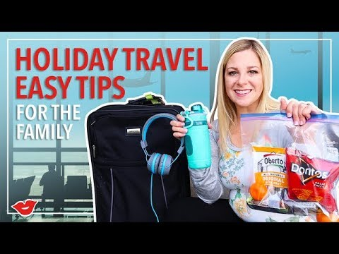 Holiday Travel Tips for Families! | Kimmy from Millennial Moms