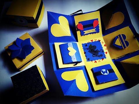 Easy Exploding Box Ideas    Minion Theme    Exploding Box