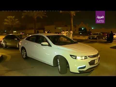 First Saudi woman begins driving in Dammam, Saudi Arabia