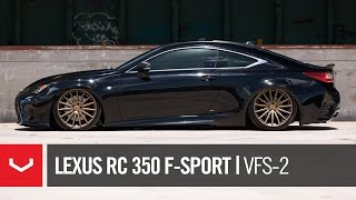 "Lexus RC 350 F-Sport Bagged | ""Black & Bronze"" 