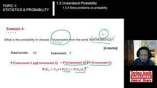 [1.3.3 Ex.1-4] #Mathematics-3 - SOLVE PROBLEMS ON PROBABILITY